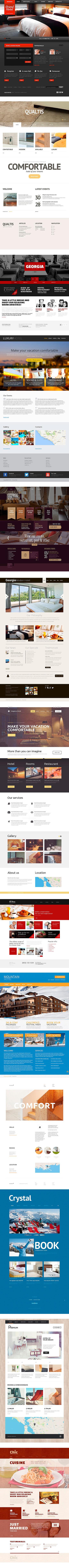 Быстрое создание сайтов для отелей и гостини в Литве. Клайпеда, Паланга, Нида, Швентои