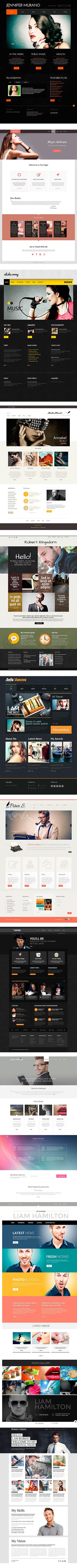 Заказ в Клайпеде персональных сайтов для адвокатов, музыкантов, моделей, консультантов - студия 24v7